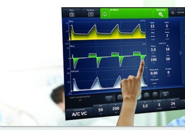 carescape r860 icu ventilator